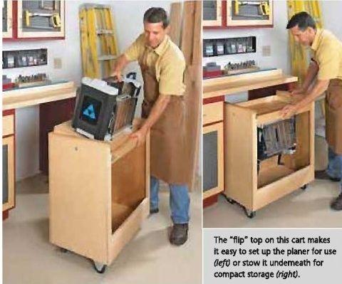 mesa carrinho para apoio de plaina http://www.workbenchmagazine.com/main/pdf/wb297-planerstand.pdf