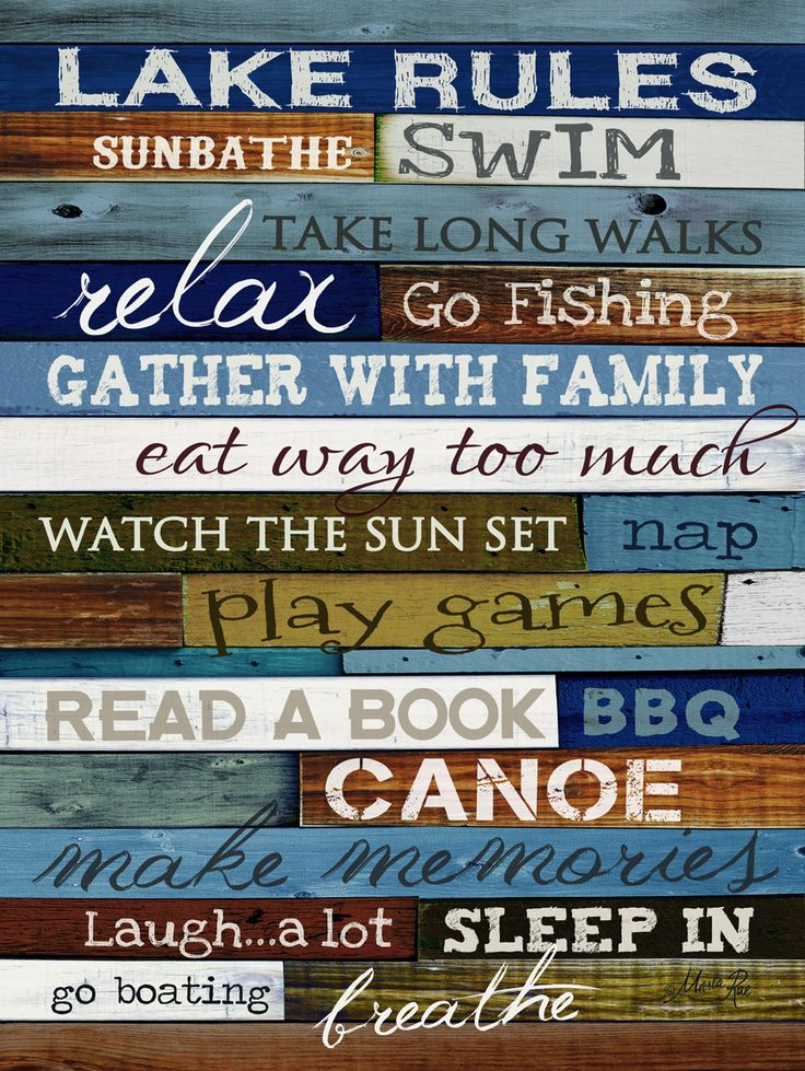 17 Best Lake Quotes On Pinterest Lake Decor Beach House