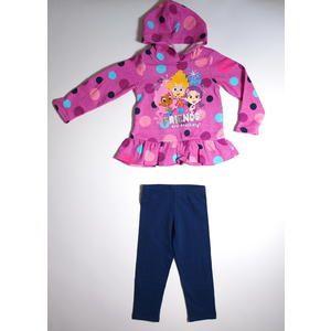 infant u0026 toddler girlu0027s hoodie u0026 leggings bubble guppies sears