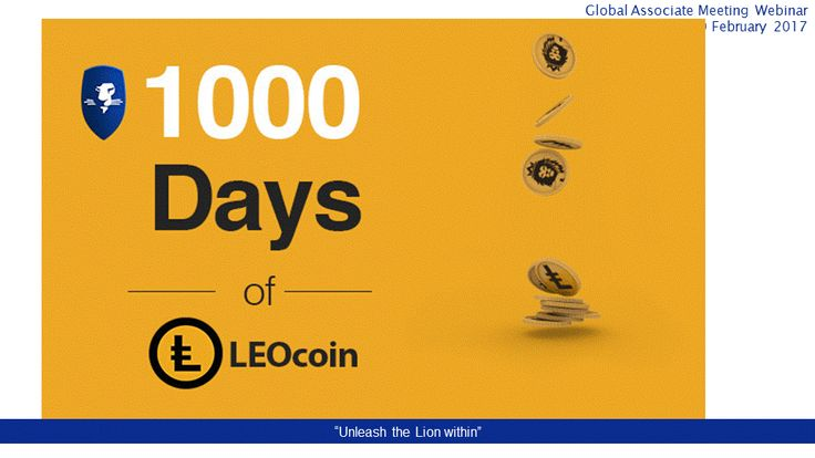 LEOcoin is 1,000 days old: who would have thought that when we launched a digital currency to help entrepreneurs avoid bank and money transmission charges we would have built up such an ecosystem? We have over 200,000 Members and Merchants using it, over 20,000 trading it on LEOxChange, dozens of exchanges quoting it around the world and trading volumes exceeding $1,000,000 in one day. #digitalcurrency #prosperwithLEO