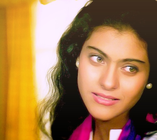 "Simran in ""DDLJ"" (Hindi Movie)"