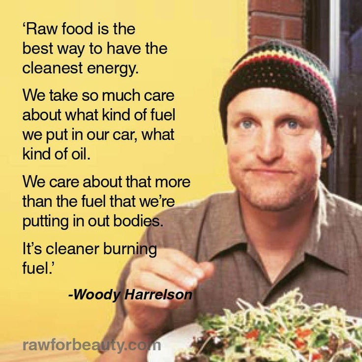 Raw food plant based diet