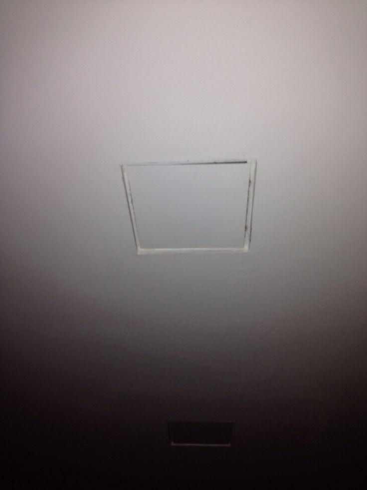Roosters mechanische ventilatie handgemaakte rvs plaatjes die wit gespoten zijn ipv lelijke roosters