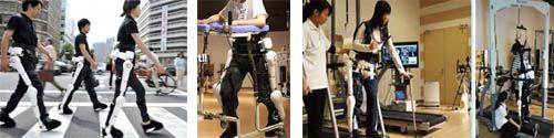 La rééducation assistée par une armure cyborg ! Lève-toi et marche ! Il s'appelle HAL et pourrait redonner espoir à toutes les personnes ayant des faiblesses musculaires ou un handicap du à un accident cérébral vasculaire et/ou à des lésions de la moelle épinière. LIRE SUR http://informations.handicap.fr/art-infos-handicap-2013-853-6271.php