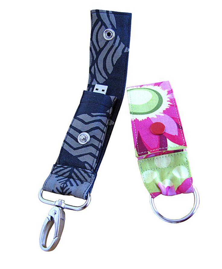 So ist der USB Stick immer dabei - Schlüsselanhänger mit Fach für einen USB Stick