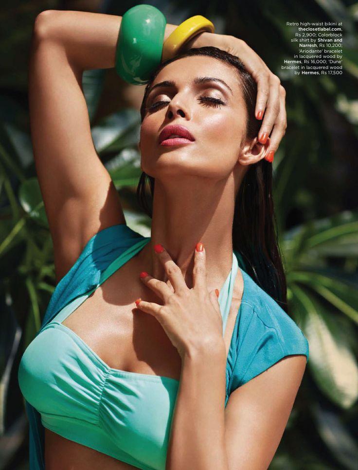 Malaika Arora Khan Sexy Bikini Photoshoot Man's World Magazine June 2013 - CelebsCountry - CelebsCountry