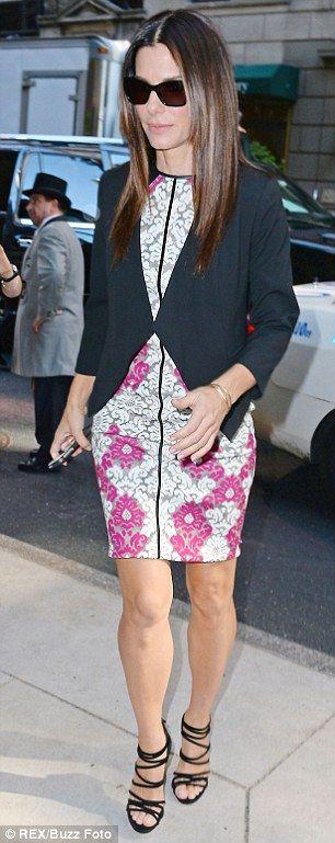 Sandra Bullock #celebrity #streetstyle