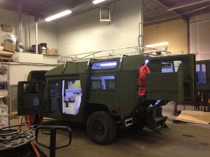 Hummer Camper Hummer H1 Turned Into Hmmwv H1 Pirate4x4