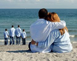 Seuns voor couples agter