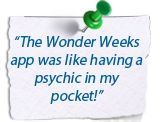 Reviews about The Wonder Weeks App - http://www.thewonderweeks.com/the-wonder-weeks-app-reviews/