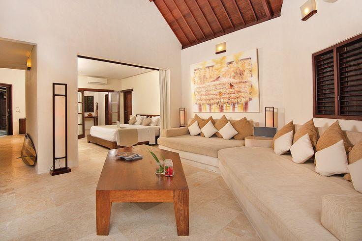 Villa 12 living room at Villa Kubu, Seminyak, Bali