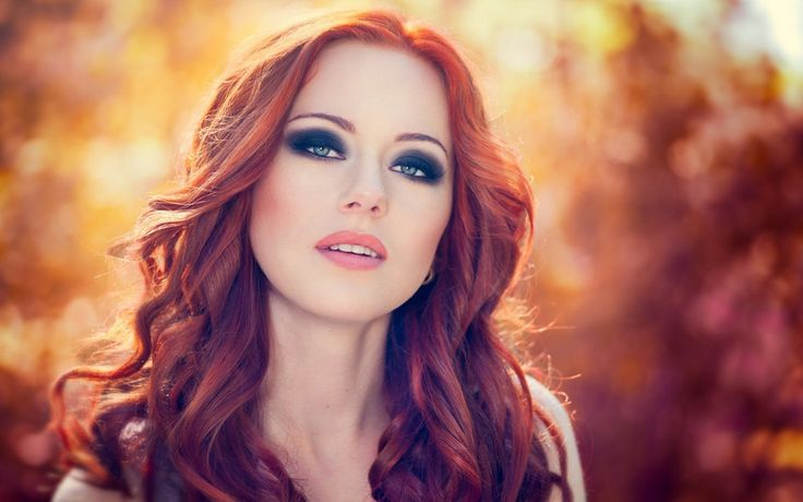redhead model bokeh portrait wallpaper x by Ilyes Ezio Auditore on 500px