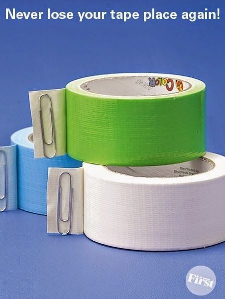 No More Wasted Tape ~ I have to remember this