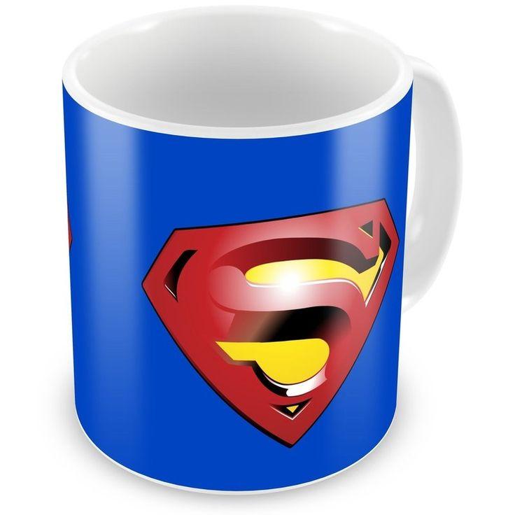 Caneca Personalizada DC Super Homem - ArtePress - Brindes em Almofadas, Canecas, Copos, Squeeze