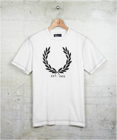 Why Drive to Toronto for Fred Perry? We've got him right here :)  Fred Perry Laurel Tee   One Rebellion Clothing Company