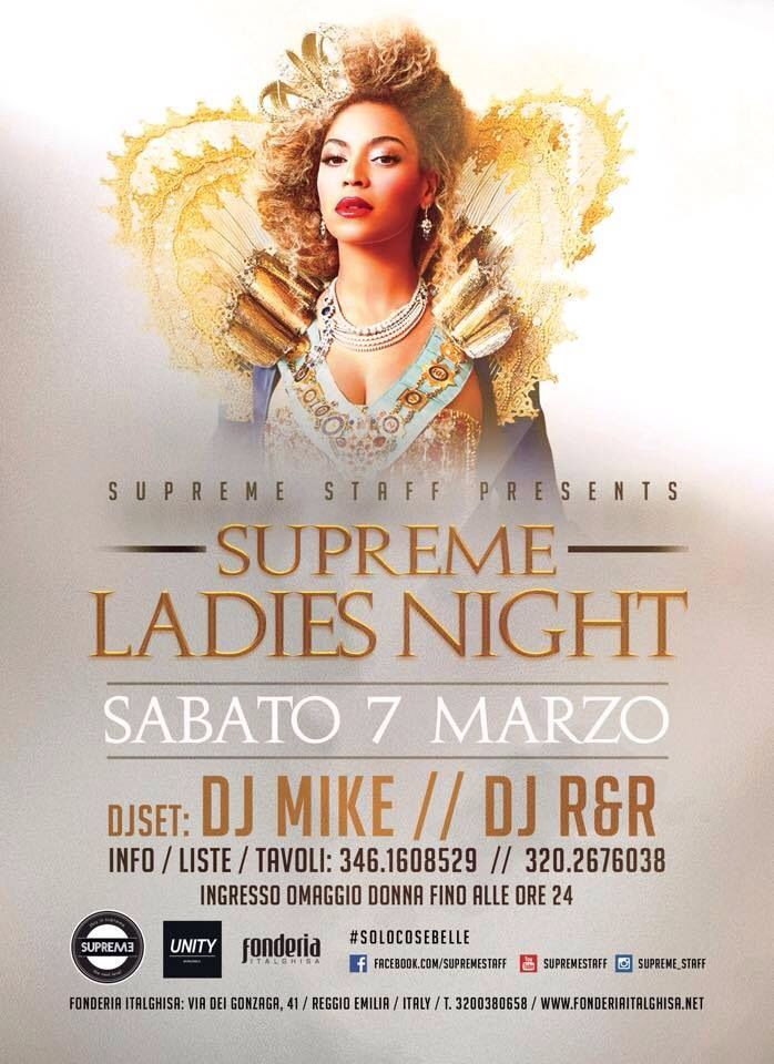 #supreme #supremestaff #LadiesNight #solocosebelle #dimitrimazzoni #hiphop sabato 7 marzo 2015