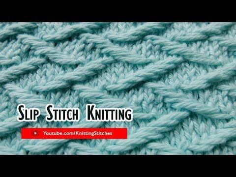 Slip Stitch Knitting #7: Jacquard - YouTube