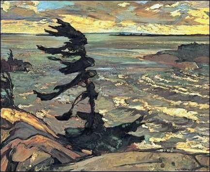 Frederick H. Varley: Stormy Weather, Georgian Bay