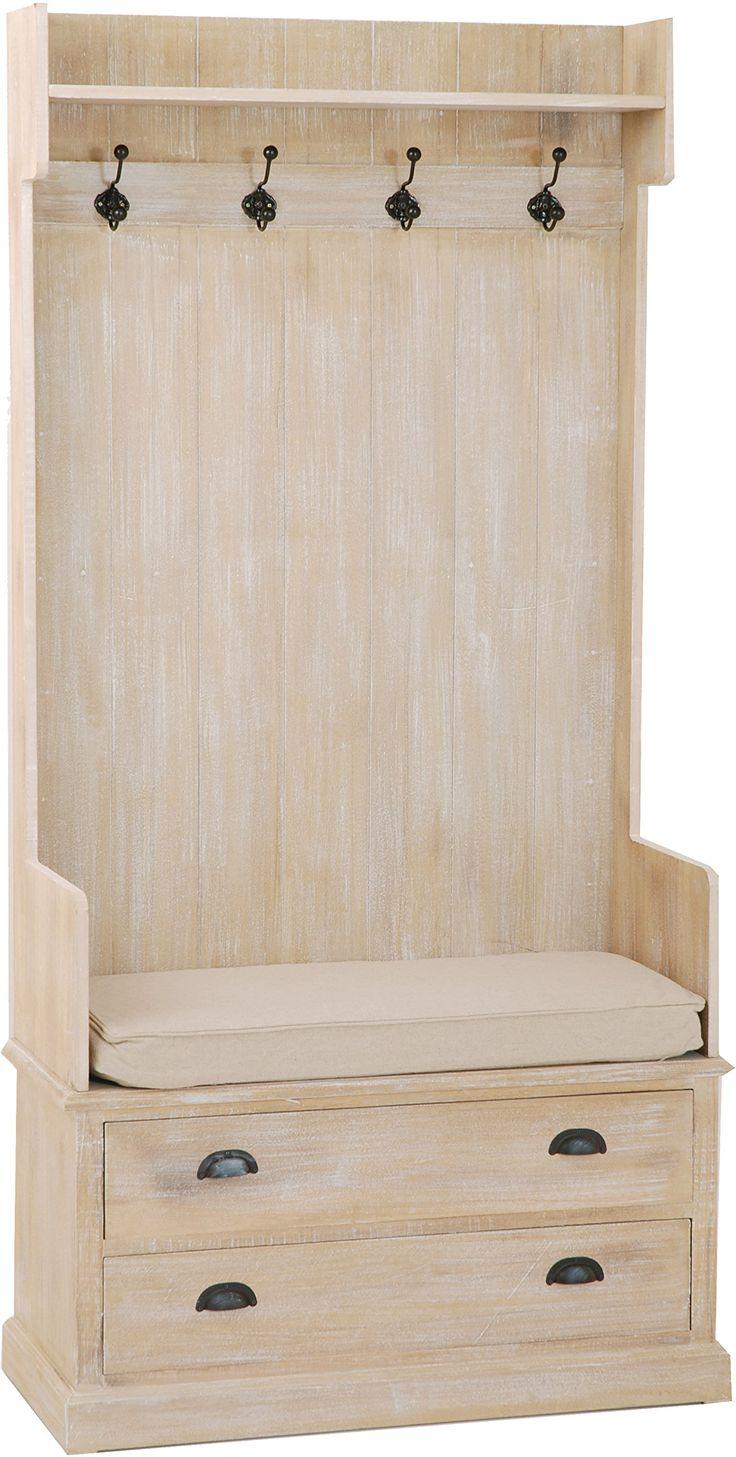 Meuble porte manteau 2 tiroirs: Amazon.fr: Cuisine & Maison
