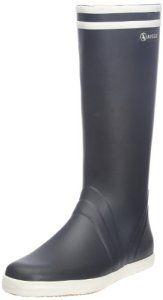 Aigle Goeland, Chaussures de Sports aquatiques homme, Bleu (Marine/Blanc), 43 EU (9 UK): Tweet Bottes Aigle Goeland, un grand classique Les…