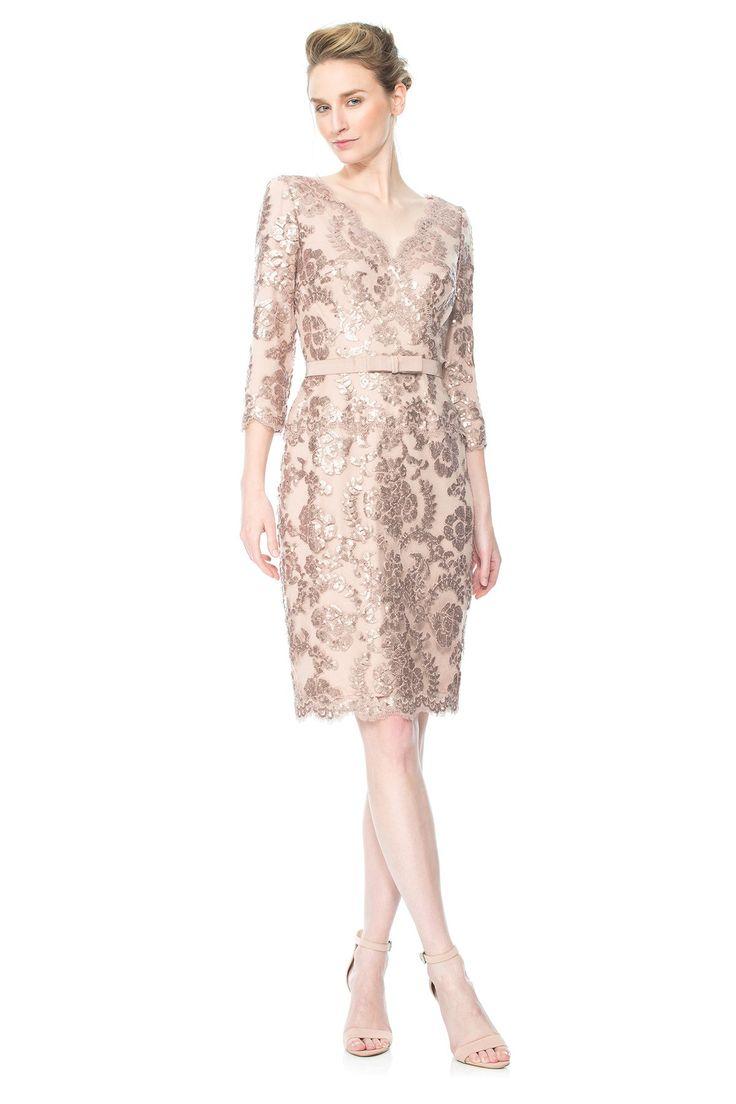 ALT1736M Sukienka wieczorowa     #suknia wieczorowa #wizytowa #tadashishoji #koronkowa #fajna  #fashion #dress #wedding #maidofhonor