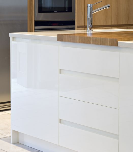 1000+ Ideas About High Gloss Kitchen Cabinets On Pinterest