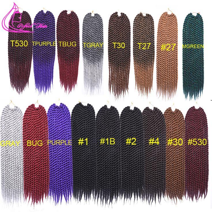 """Bouncy Havana Mambo Twist Crochet Braids 22"""" 12 roots Havana Jumbo Twist Hair Croche Braids Fauxlocks Havana Senegalese Twist"""