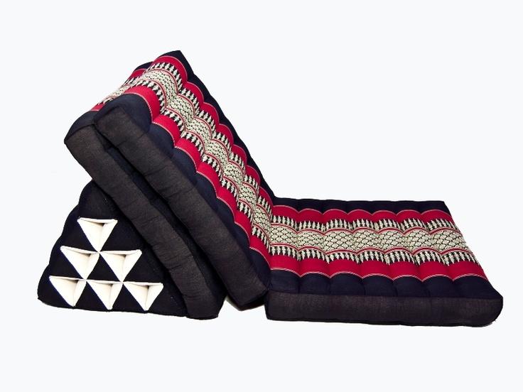 Thai Triangle Pillows Floor Seating : 19 best Thai pillows images on Pinterest Triangle pillow, Floor cushions and Floor pillows