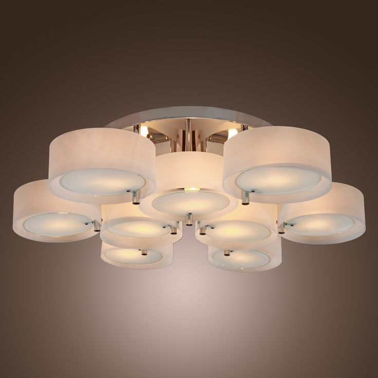 31 best chandeleeres images on pinterest ceiling lamps modern lightinthebox acrylic chandelier with 9 lights flush mount modern ceiling light fixture chrome finish mozeypictures Choice Image