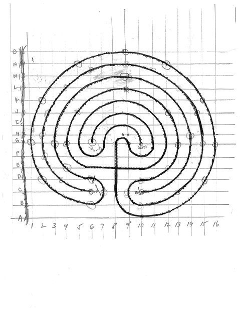 build a backyard labyrinth