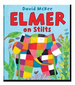Elmer on Stilts by David McKee published by Andersen Press. Narrated for Me Books by Mike Wozniak.