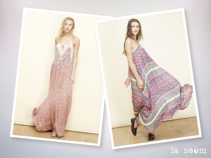Maxi dress de seda #springsummer2016 #primaveraverano  #laroomterrassa www.facebook.com/...