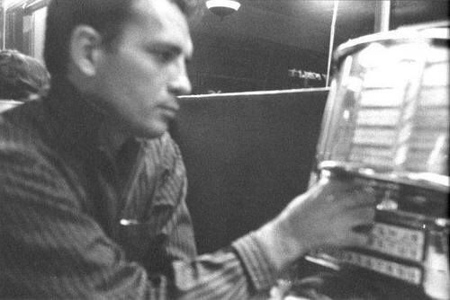 Jack Kerouac at the jukebox, uncredited photo