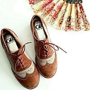 Gianni Bini Shoes - New! Gianni Bini Menswear Style Studded Oxford