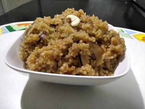 Lapshi | Maharashtrian village Sweet dish | Broken Wheat Dessert - YouTube