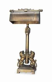 AN ART DECO BRONZE TABLE LAMP  CIRCA 1920  Price realised  GBP 750