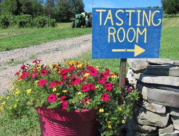 Residing in a 1913 barn near the top of Mt. Zion Mountain in Marlboro, New York, Glorie Farm Winery was conceived in a love affair between agriculture and wine.