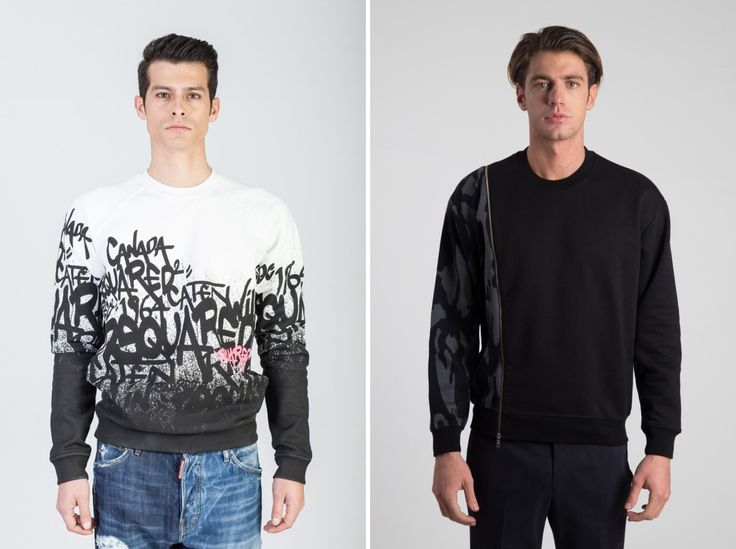 Right or left? Invest in a quality sweater now! Right: #MCQ left: #Dsquared #hionidismankind #mensfashion #menswear #menstyle #shoponline #onlinefashion #mensoutfit #globalfashion #luxuryfashion #fashiononline #onlineshop #fashionblogger #fashionformen