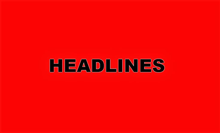 Superb Headlines of the week from u Le Pen demands closure of all