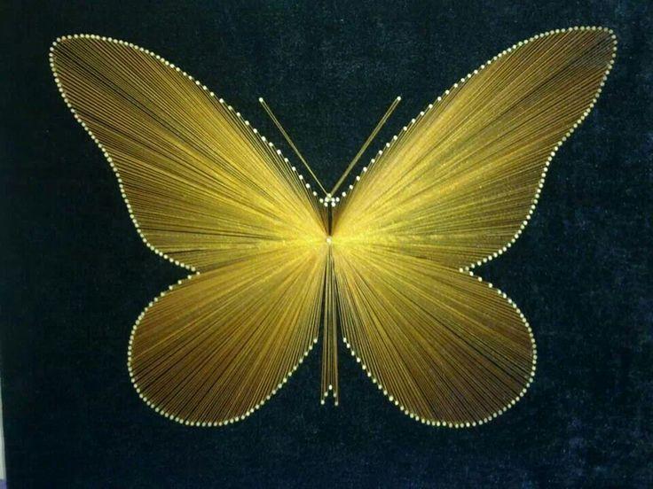 Filografiyle uçar bu kelebek
