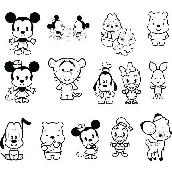Cartoon Drawing Kawaii Coloring Pages Coloring Pages Monsters