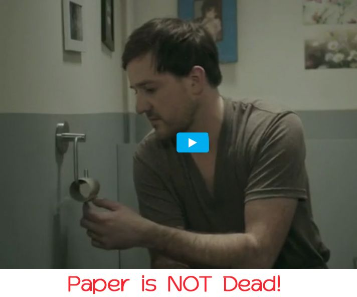 Paper is NOT Dead!  Paper DOES make a difference to your guests...