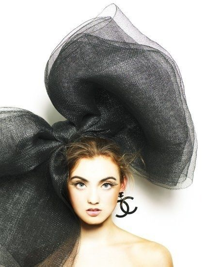 bow: Hats, Coco Chanel, Fashion, Inspiration, Style, Chanel Bow, Things, Big Bows