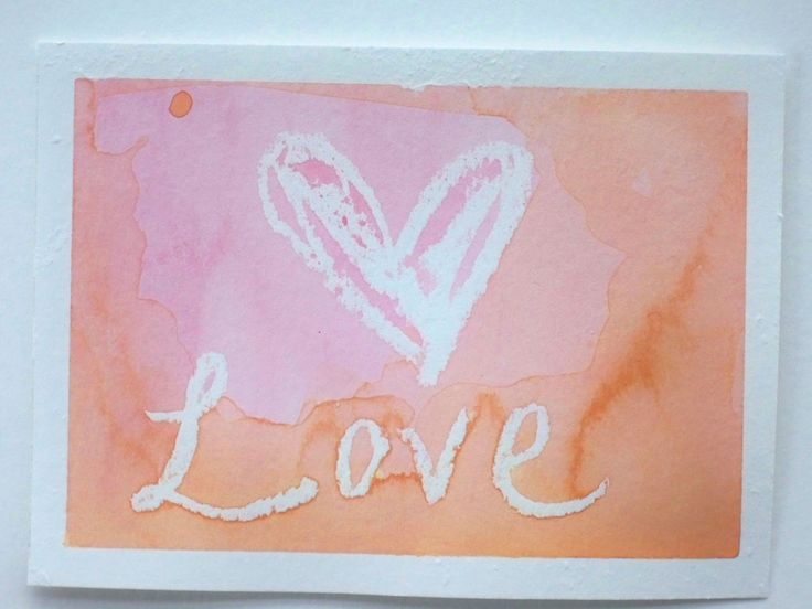The Next Bird: Watercolor Valentines Day Cards