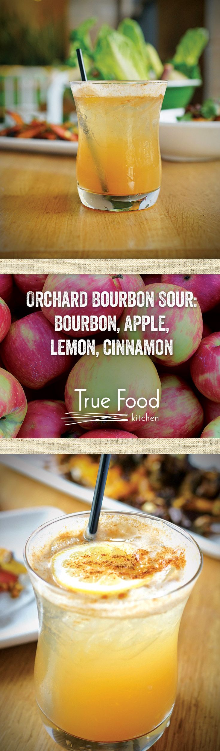 Orchard Bourbon Sour Power.