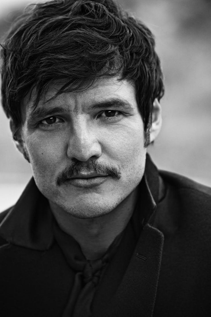 I LOVE THIS MAN. // Pedro Pascal Stars in Black & White Shoot for LUomo Vogue