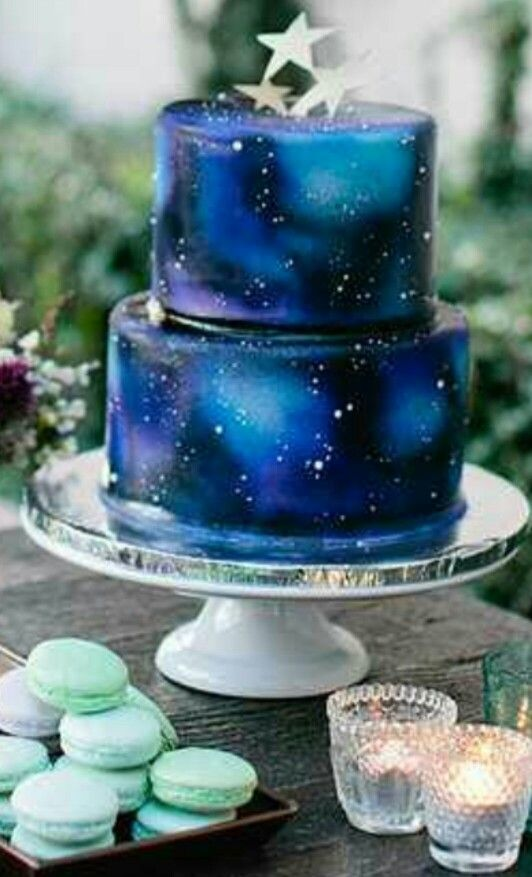 Galaxy Cake Cakes And Other Yummies In 2019 Galaxy