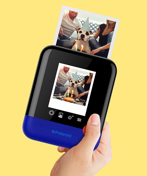 polaroid pop delivers a modern take on the classic instant print at CES 2017