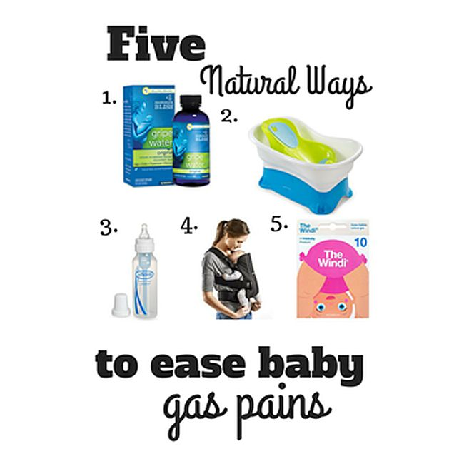 5 easy ways to treat baby's gas pains naturally #Baby #Gaspain #Parents #Parenting #Childcare #Toddler #dinkyninky