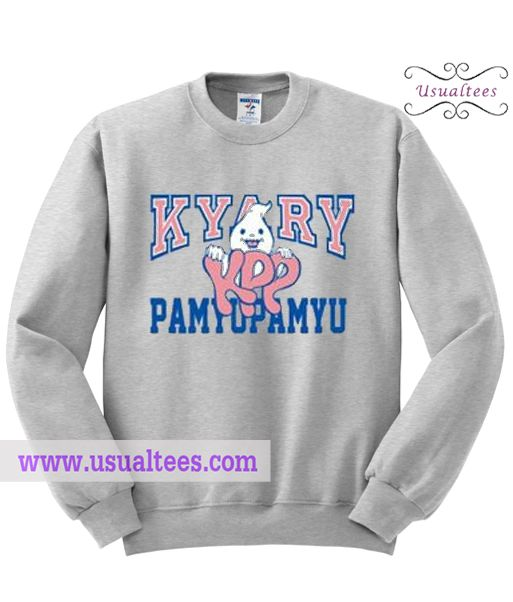 Kyary Pamyupamyu Sweatshirt from usualtees.com This sweatshirt is Made To Order, one by one printed so we can control the quality.